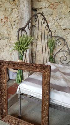 Déco champêtre pour un mariage au Château La Hitte en Nouvelle Aquitaine