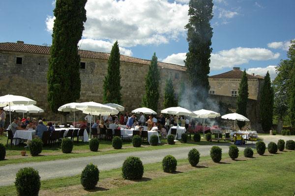 Brunch au Château de Poudenas en Nouvelle Aquitaine