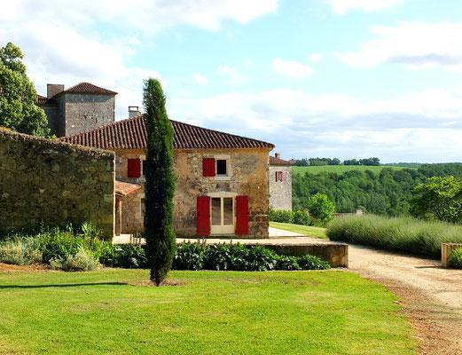 Le Bastion - gîtes au Château de Poudenas à Poudenas