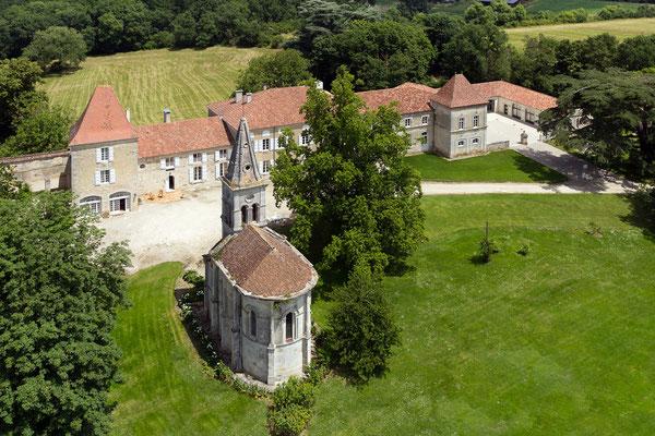 Château de Saint-Loup en Albret à Montagnac sur Auvignon