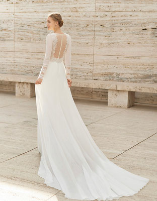 Zarteste Stoffe, feinste Spitzen, ein Brautkleid der Couture Kollektion ist vor allem eines: Besonders!
