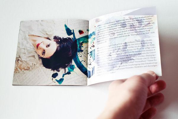 Olivia Trummer - Poesiealbum CD Booklet Innenseiten
