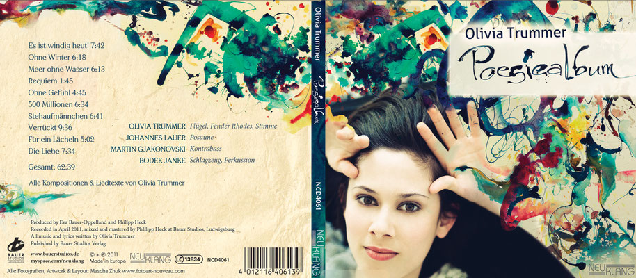 Olivia Trummer - Poesiealbum CD Digipack