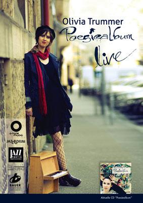 Olivia Trummer - Poesiealbum Plakat