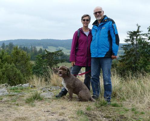 Ruth und Rolf mit Trasto