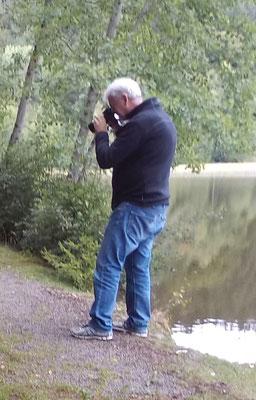 Rolf, der gerade am Fotografieren ist