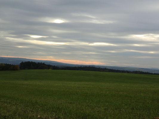 wolken flächig