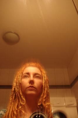 Selbstportrait Selfie nervenkeks Dreads Dreadlocks Spiegel