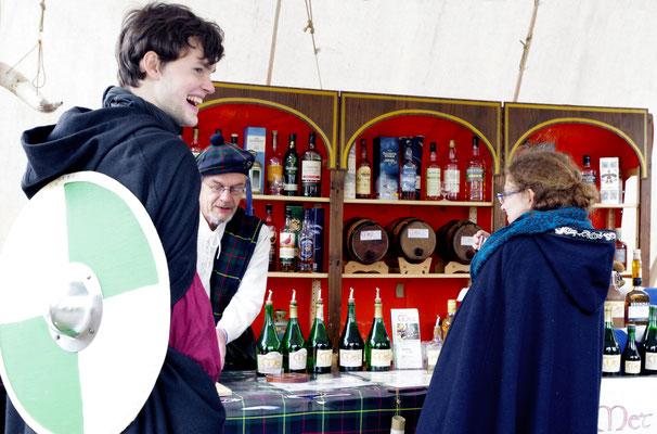 Mittelaltermarkt Metstand Met Ausschenke
