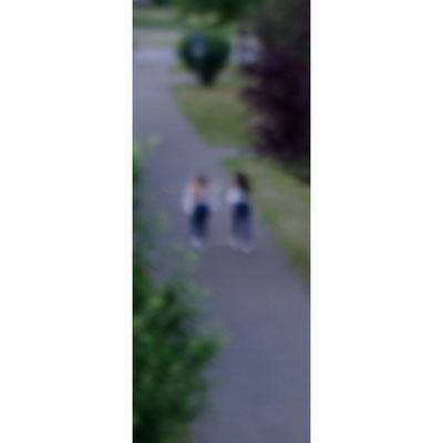Ein heimliches Bild, was du draußen gemacht hast