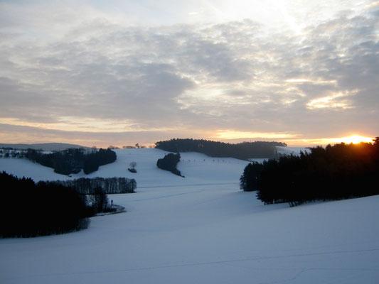 Winter Schnee Hügel nervenkeks