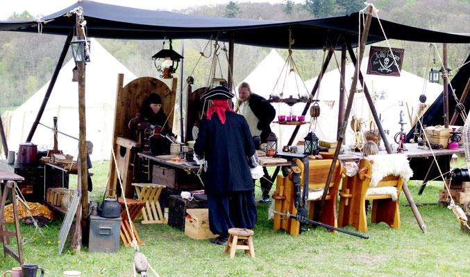 Lager Piraten Mittelaltermarkt