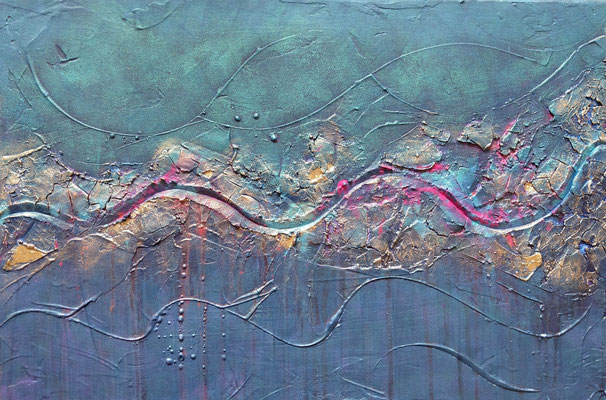 """""""New Waves"""" 40x60cm  Fr.300.00 Reserviert"""