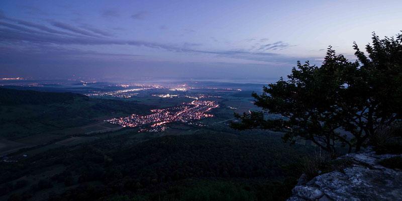 Nachtpanorama; Breitenstein