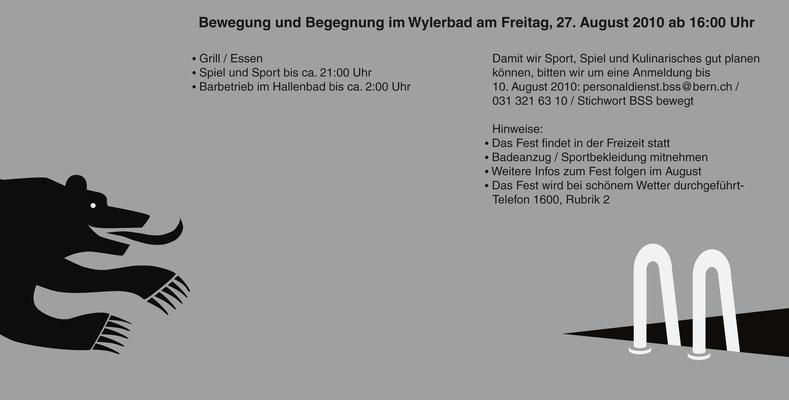 ...am Sommerfest der Direktion BSS der Stadt Bern