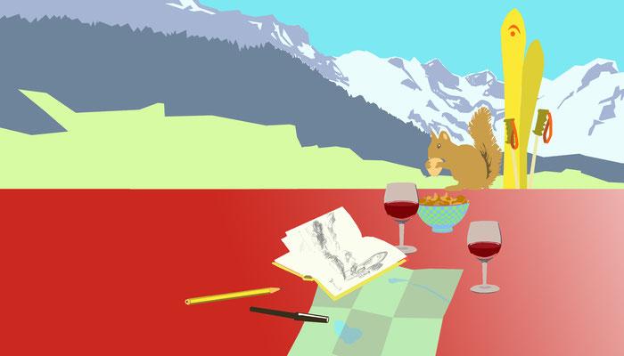 Webseite einer Ferienwohnung in Engelberg