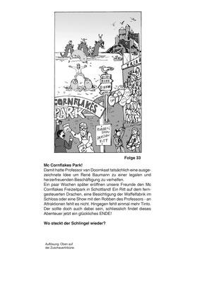 """""""Das Geheimnis von Schloss McCornflakes"""", SJW Verlag Zürich"""