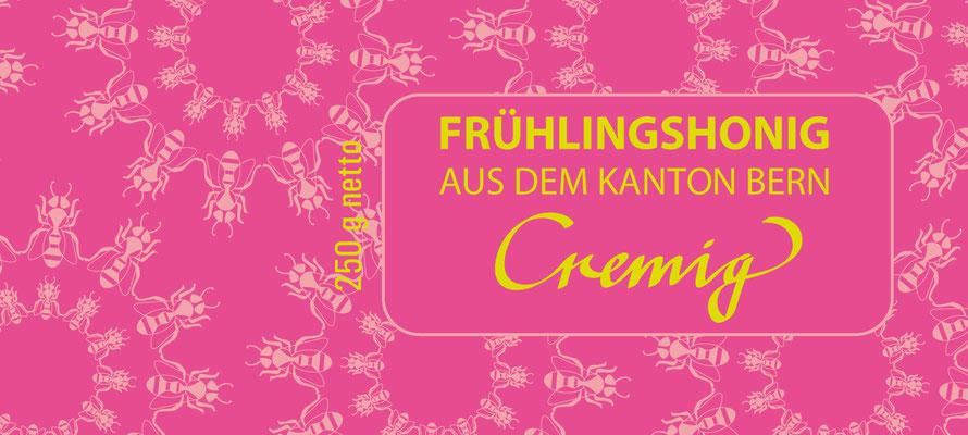 Frühlingshonigskollektion für den Berner Stadtimker Thomas Eberhard