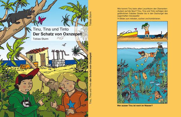 """Rätselbuch """"Der Schatz von Oxnzepetl"""", Oxunesl Verlag Burgdorf"""