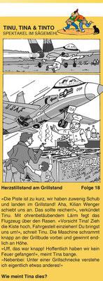 """Folge aus der Geschichte """"Spektakel im Sägemehl"""" zum Schwingfest in Burgdorf"""