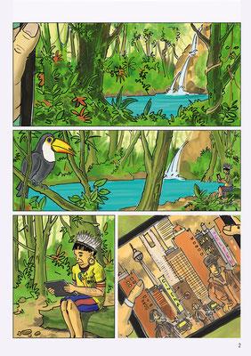 Aus über 1000 Beiträgen schaffte es mein Comic unter die 15 zu gelangen, die in der Kunsthalle Luzern ausgestellt wurden.