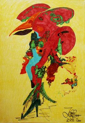 Traumvogel (42 x 59 cm)
