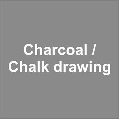 Charcoal / Chalk drawing