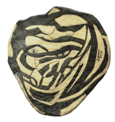 Stone, 13x13cm, Pappemaché-1