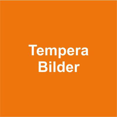Temperabilder ... Unikate auf Papier und Leinwand
