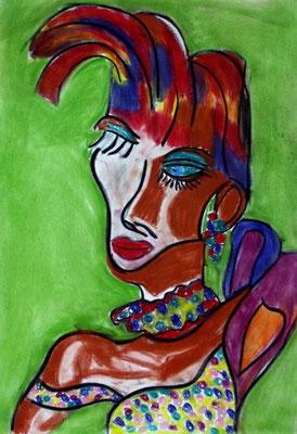 Madam Pompadour (70 x 100 cm)