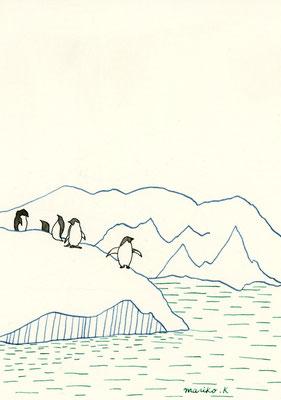ペンギン:カラーインク:B5