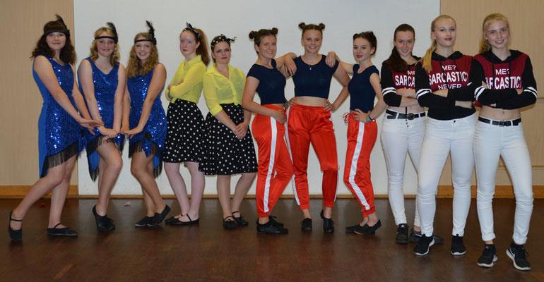 Gruppe Fairytale am Frühlingstanztag 2017