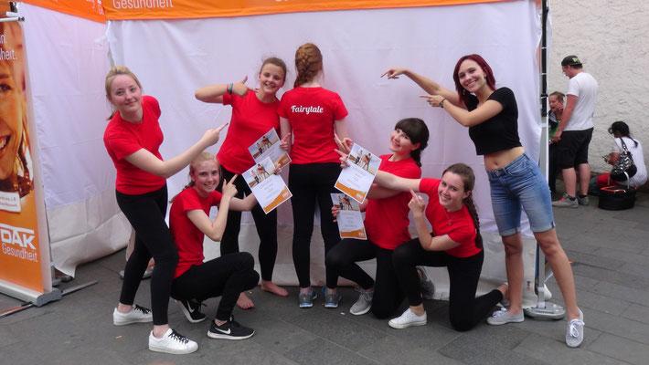 Gruppe Fairytale beim DAK Dance Contest 2017