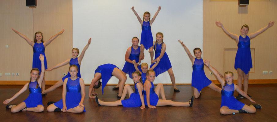 Gruppe Tanzkids am Frühlingstanztag 2017