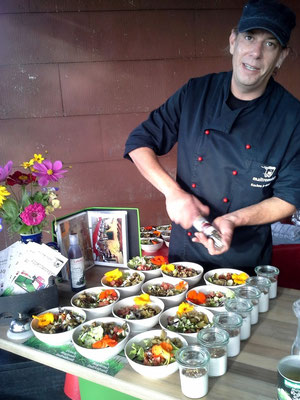 Salat- und Pastavariationen für die IHK-Wandertage 2014 bei Lohrhaupten