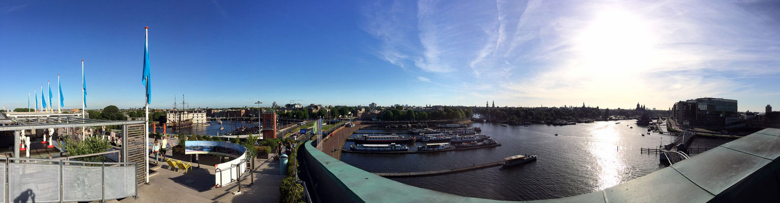 Skyline Amsterdam - ©TABMAN