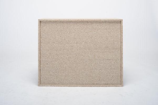 Regal gefüllt mit Brett, 90x30x71,4 cm