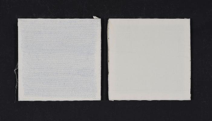gebaute Leinwände, 2017 ( 55 cm x 55 cm )