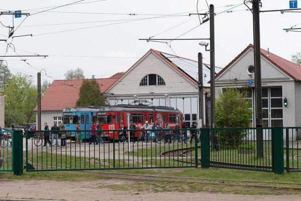 Foto: Fabian Zielke (Waschhalle der Schöneicher - Rüdersdorfer Straßenbahn)