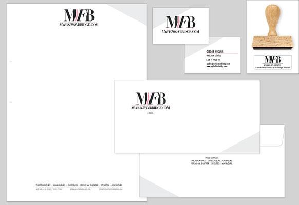 CORPORATE DESIGN (letterhead, envelope, business card, stamp)