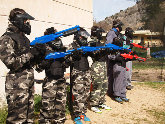 Paintball Niños o Paintball Soft