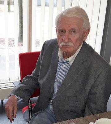 Neuer und alter Kassenprüfer Siegfried Kram