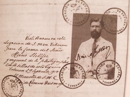 Der Pass von H.F. Stettler