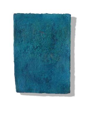 No.5 Gesteinsmehle, Pigmente auf handg. Bütten ca. 30x40