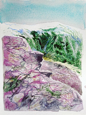 VA_25_watercolour on paper, 32x24 cm, 2020