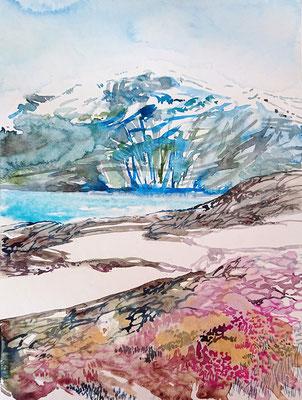 VA_26_watercolour on paper, 30,5x23 cm, 2020