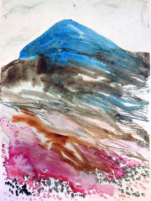VA_13, watercolour on paper, 23x30,5 cm, 2020
