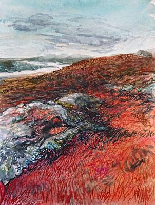 VA_5, watercolour on paper, 23x30,5 cm, 2020
