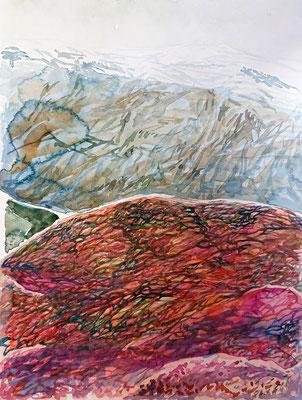 VA_16, watercolour on paper, 23x30,5 cm, 2020