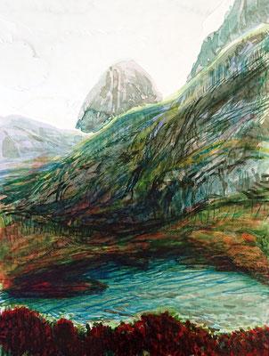 VA_7, watercolour on paper, 23x30,5 cm, 2020